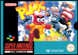 Plok! SNES EU cover
