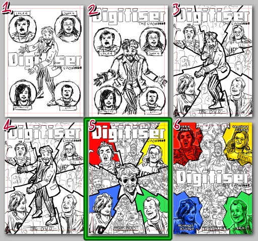 Digitiser cover process 1 - layouts