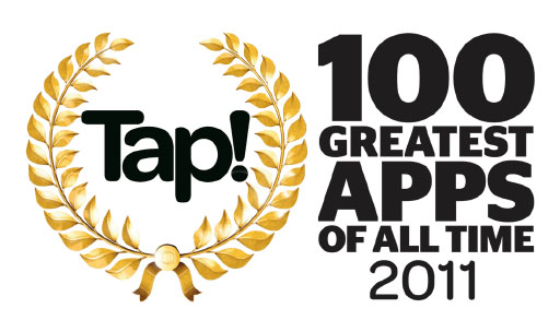 Tap! 100 Greatest Apps of All Time!