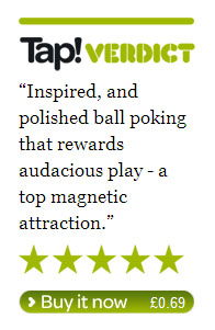 Tap! Mag review - 5 stars!