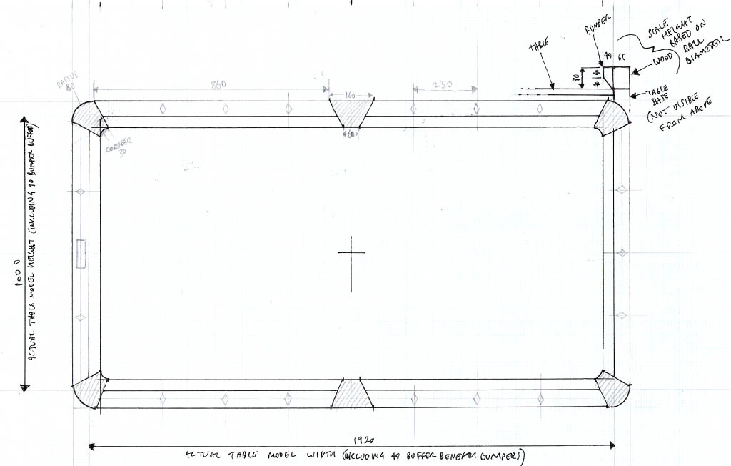 Pool Table Blueprints