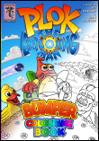 Plok Bumper Colouring Book launched