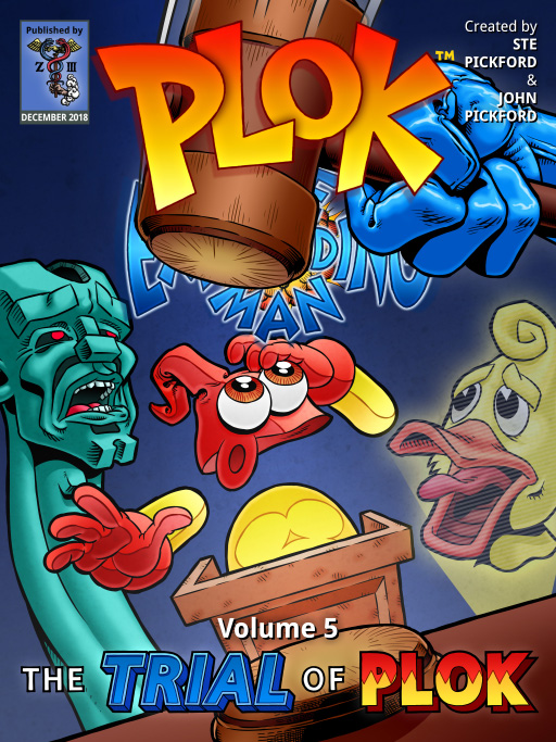 Plok Volume 5 book launched